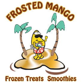 Frosted Mango Ice Cream and Smoothies